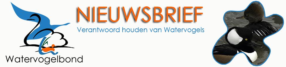 Watervogelbond nieuwsbrief