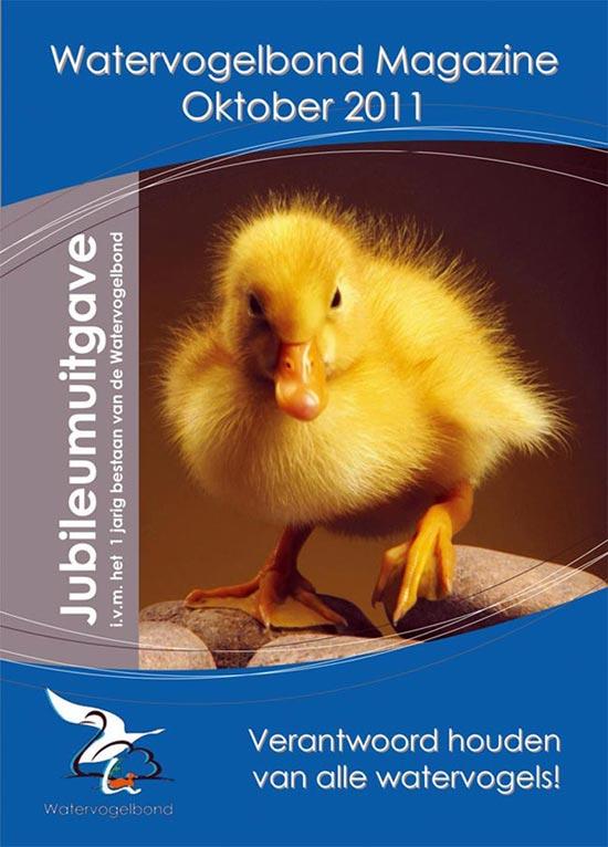 Watervogelbond magazine okt 2011